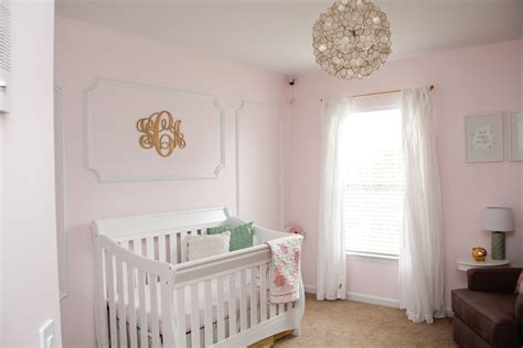 pink and gold baby room sweet s pink and gold nursery project nursery