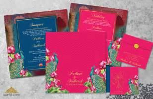 Lotus Wedding Cards