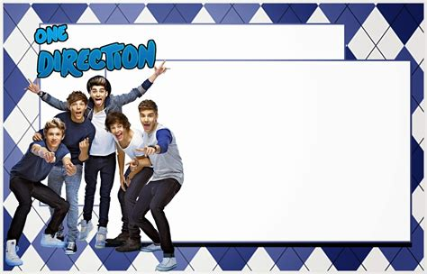one direction birthday card template one direction free printable kit oh my in