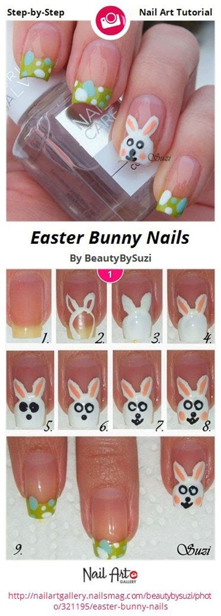 nail art easter tutorial elegant easter nail art tutorials for beginners learners