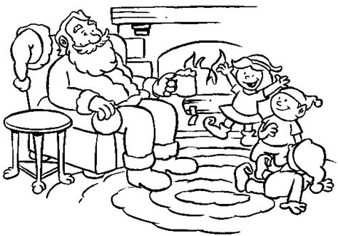 Olsommer S Christmas Tree Farm For The Kids Santa Tree Farm Coloring Pages