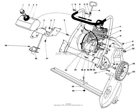 toro snowblower parts diagram toro 38120 s 200 snowthrower 1980 sn 0500000 0999999
