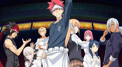 anoboy shokugeki no souma s3 anime nuevo trailer de shokugeki no soma ni no sara