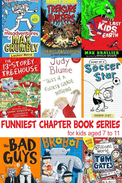 7 Childrens Books by Chapter Book Series For Ages 7 11 Years