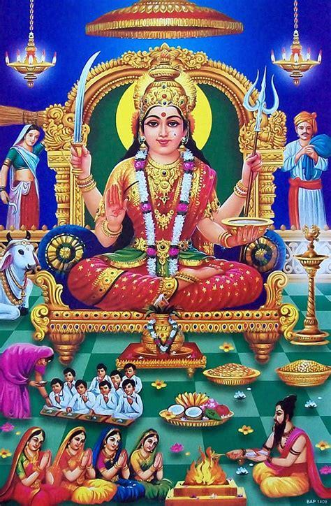 Santoshi Mata Hd Wallpaper