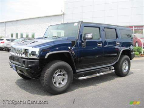 blue hummer 2007 hummer h2 suv in all terrain blue 101383