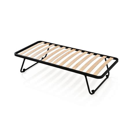 Space Base Bed Frame Openable Slatted Iron Bed Base Space Saver Single 2ft6 Quot X 6ft3 Quot 80 X 190 Cm
