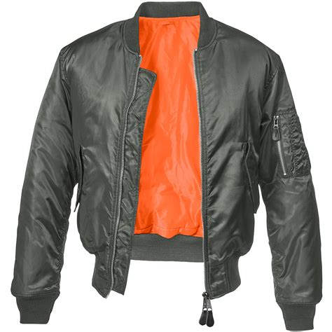 Bomber Bordir Jacket Martin Space Army brandit ma1 jacket anthracite flight 1st