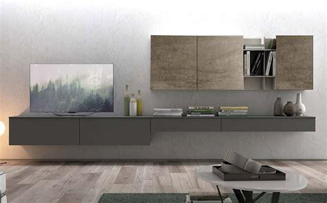 soggiorno parete attrezzata moderna parete attrezzata moderna a sospensione 390 cm prezzo offerta