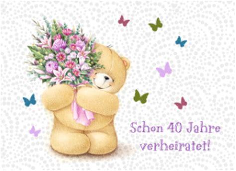 Hochzeit 43 Jahre by Echte Karte Hochzeitstag Rubinhochzeit 40 Hallmark