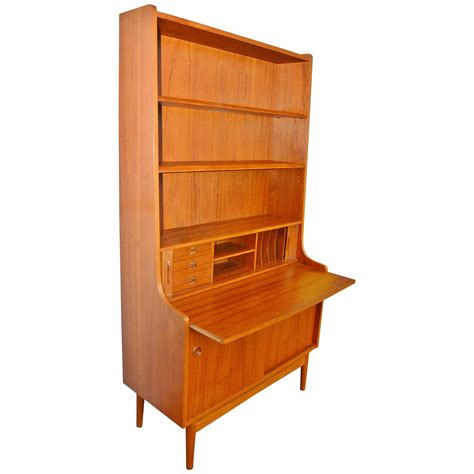 desk with bookcase stellar quality b 248 rge mogensen teak desk with