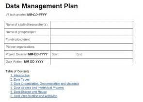 data strategy template data management plan template the ceramic cookware