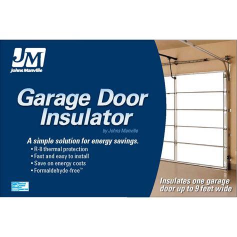 Garage Door Insulation Kit Lowes Shop Johns Manville R 8 Garage Door Insulation Panel Kit At Lowes