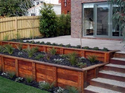 best 20 wood retaining wall ideas on pinterest sleeper wall sleeper steps and sleepers garden