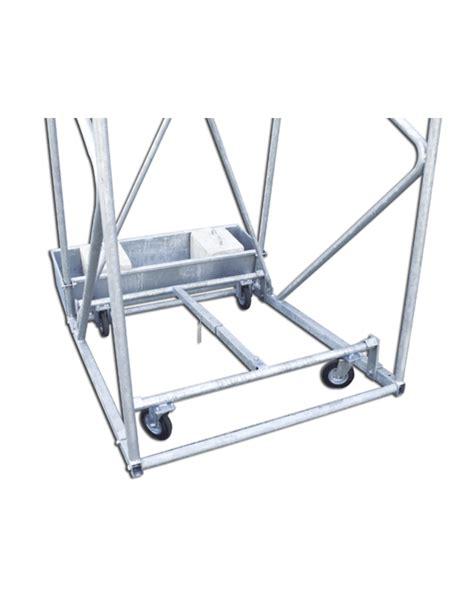 struttura a traliccio coppia tabelloni basket e minibasket struttura regolabile