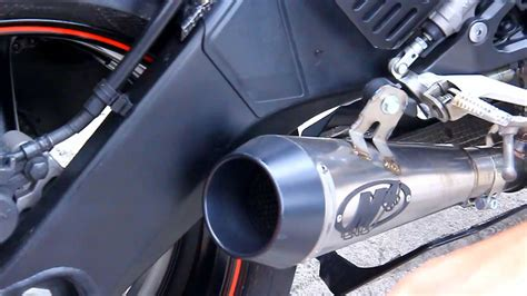 Knalpot Racing Yamaha Byson Dbs 2 knalpot m4 gp titan untuk yamaha r6 di duniamotor