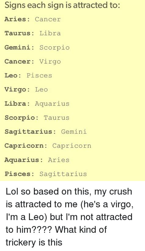10 Signs Your Is Attracted To You by Search Taurus Memes On Me Me