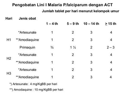 Kina Obat Anti Malaria Isi 12 Tablet tatalaksana kasus malaria