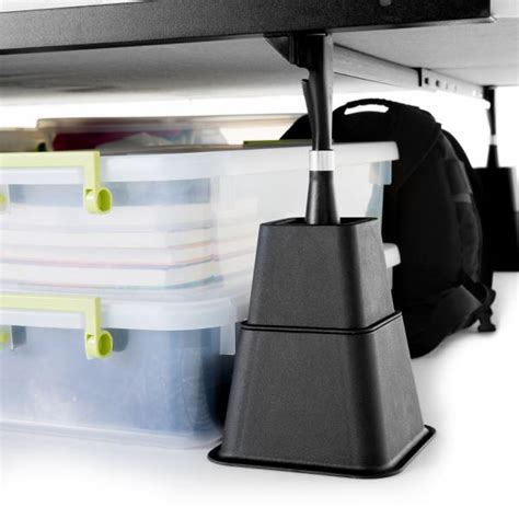 adjustable bed risers malouf