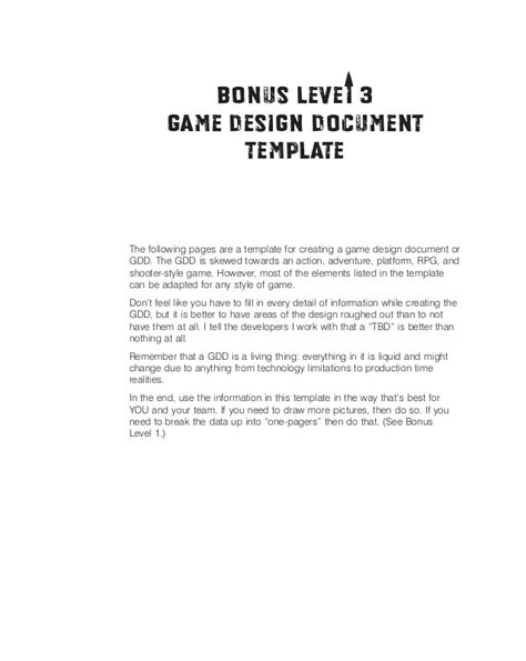 game design document template doliquid game design doc template