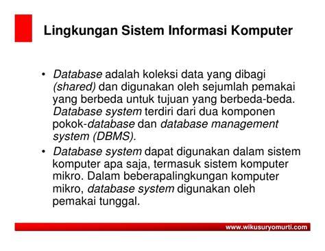tujuan desain sistem database dan grafik materi kuliah asuransi syariah