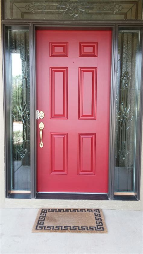red door paint colors front doors good coloring front door red paint color 42