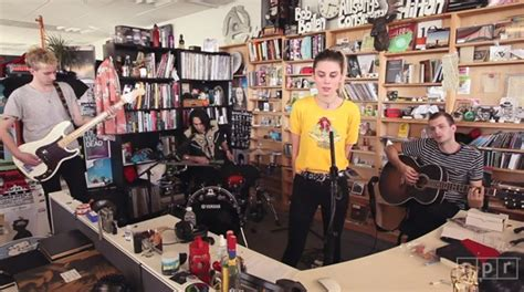 Tiny Desk Concert Wolf Alice Watch Wolf Alice Play Stripped Back Versions Of Fluffy