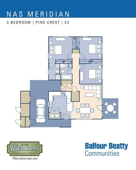nas meridian pine crest neighborhood 3 bedroom home