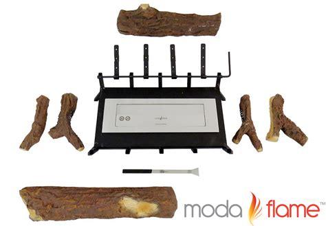 moda 24 quot convert to ethanol gas log fireplace burner