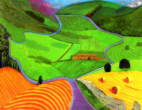 Landscape Pictures By David Hockney 1000 Images About David Hockney On David