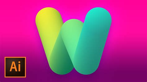 bubble text logo mark design illustrator tutorial youtube