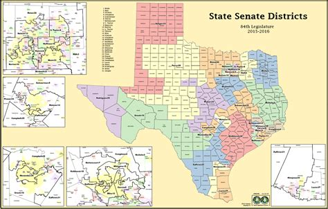 texas state senate districts map texas district map 2016 swimnova