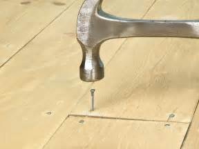 Hardwood Floor Nails How To Repair Hardwood Floors How Tos Diy