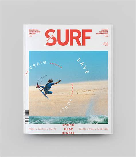 magazine layout design behance transworld surf redesign on behance
