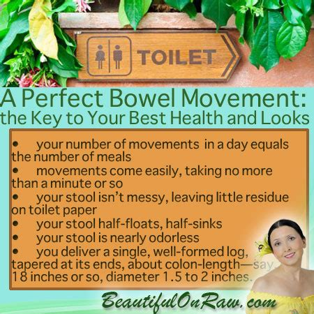 Detox Diet Bowel Movements by The Beautiful On