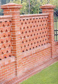 decorative bricks 1000 images about fences on fence garden
