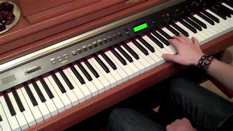 tutorial piano numb tutorial numb piano youtube