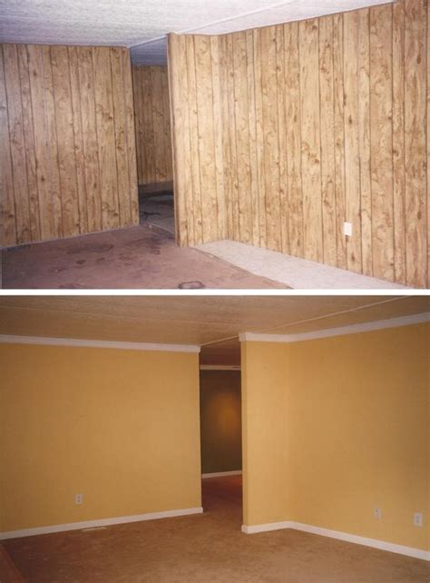 how to update wood paneling pinterest the world s catalog of ideas