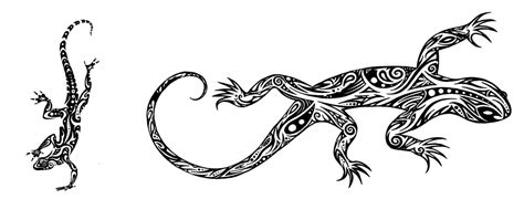 8 polynesian lizard tattoos everything about tattoos