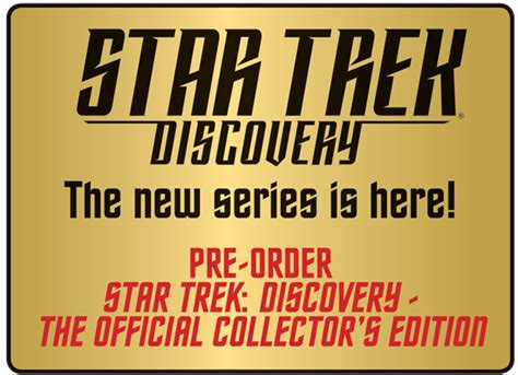 trek discovery official collector s edition books books retrenders