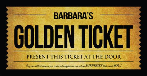 golden ticket invitation template willy wonka golden ticket invitation