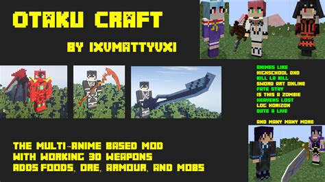 x mod game forum otaku craft wip mods minecraft mods mapping and