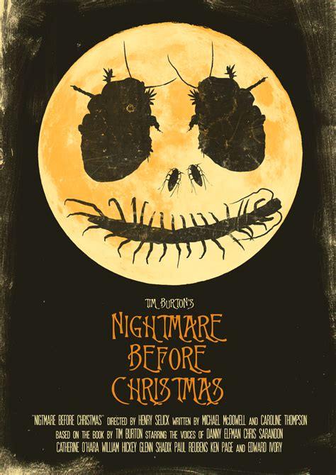 geeky nerfherder movie poster art nightmare