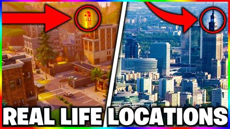 fortnite and poland fortnite map in real fortnite real location
