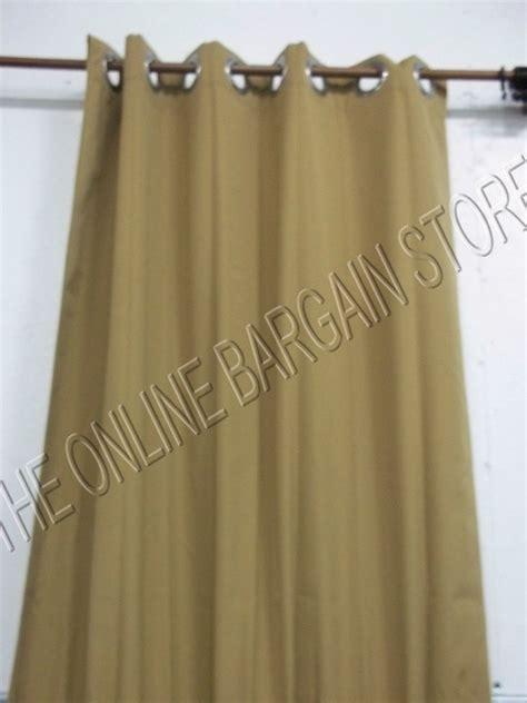 Ballard designs outdoor curtains drapes panels grommet sunbrella 50x84 brass ebay