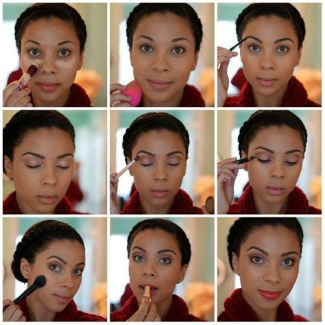 natural makeup tutorial for black skin how to do a smokey eye for brown eyes eye makeup tutorial