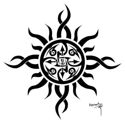 tribal sun tattoo design sun images designs