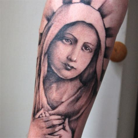 mama mary tattoo design 47 religious tattoos