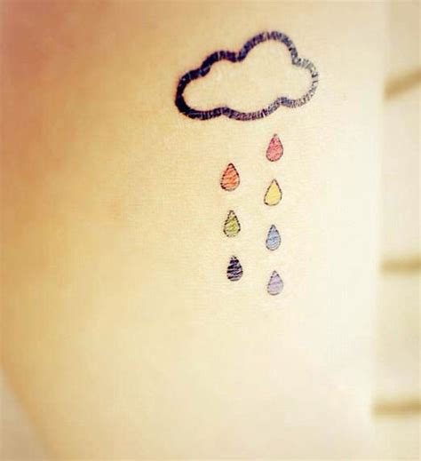 rain cloud tattoo designs best 20 cloud tattoos ideas on outer