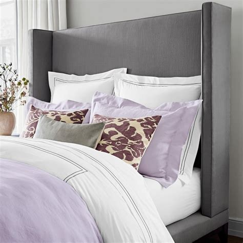 william sonoma bedding italian hotel embroidered bedding williams sonoma